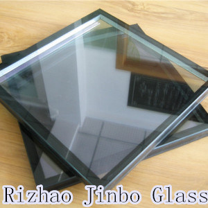 Flat or Curved Low E Insulated Glass (Double Glazing, IGU) for Window (JINBO) pictures & photos