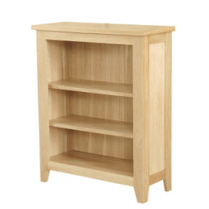 Wooden Bookshelf, Low Bookcase, Wood Bookcase (NR20)