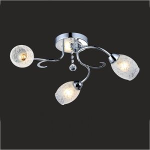 Bedroom Ceiling Lamp Glass Chandelier Gx-6055-3 pictures & photos