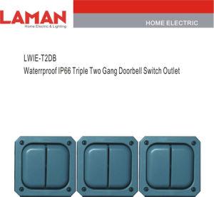 WIE-T2DB Waterrproof IP66 Triple Two Gang Doorbell Switch Outlet (LWIE)