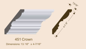 Primed MDF Cornice/Crown Moulding MDF Moulding pictures & photos
