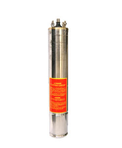 China 4 Oil Cooling Three Phase Submersible Motor 0 5hp