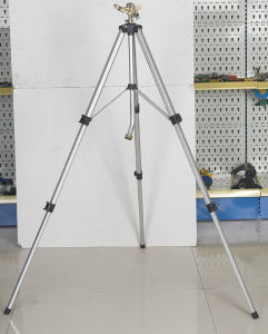 Telescoping Tripod with Brass Impulse Sprinkler