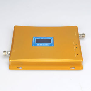 Golden Signal Booster GSM Signal Repeater for WCDMA 2100MHz pictures & photos