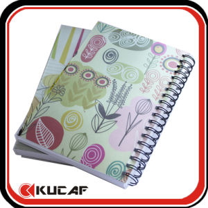 Plastic Cover Spiral Note Book pictures & photos
