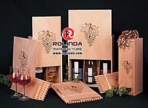 Factory Price Wooden Wood Wine Boxes pictures & photos