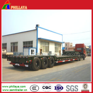 Customized Low Bed Semi-Trailer for 100-150 Tons Transport pictures & photos