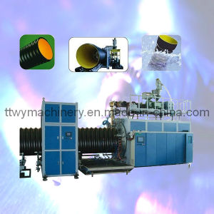 Plastic PE/PP Double Wall Spiral Corrugated Pipe Extruder (TBWG-800) pictures & photos