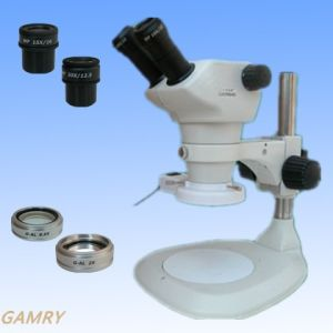 High Quanlity Stereo Zoom Microscope (JYC0850-BCR) pictures & photos