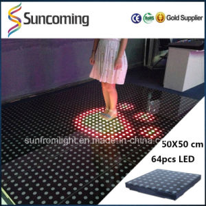 50X50cm Interactive LED Digital Dance Floor P62.5 Dance Floor Hire pictures & photos