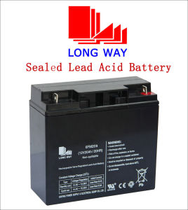 12V20ah Rechargeable Sealed Lead Acid Solar Battery pictures & photos