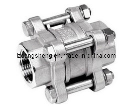 3-PC Spring Loaded Check Valve pictures & photos