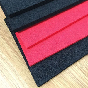 Red Closed Cell EPDM Foam for Powder Puff pictures & photos