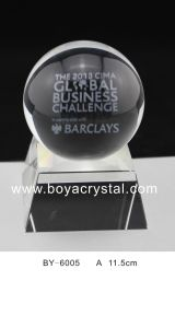 Crystal Ball Trophy for Gifts and Premiums (BY-6005)