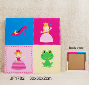 Princess Screenprinted Canvas Painting for Wall Decoration pictures & photos