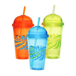 Double Walls Plastic Water Tumblers Cup pictures & photos