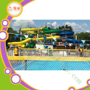 Fiberglass Water Park Slides Water Rides for Hotel pictures & photos