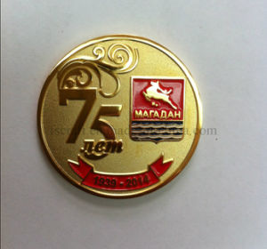 Russian Gold Plated Custom Souvenir Coin pictures & photos
