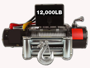 Truck 12V Electric Winch with 12000lb Pulling Capacity pictures & photos