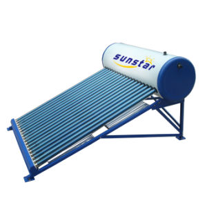 Non Pressurized Glass Tube Solar Water Heater pictures & photos