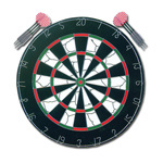 Paper Dartboard (FD-003) pictures & photos