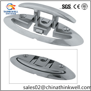 Marine Stainless Flip up Pull up Folding Cleat pictures & photos