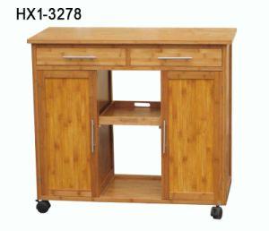 Bamboo Kitchen Trolley (HX1-3278)