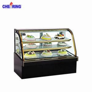 Luxury Marble Cake Display Showcase pictures & photos