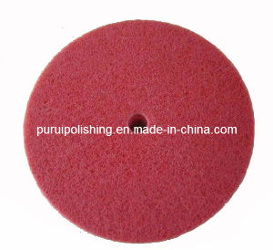 Red Nylon Non Woven Grinding Wheel