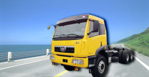 Qingdao Jiefang 3 Axles Tractor Head Weichai Engine Faw Tractor Truck pictures & photos