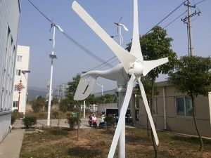 Wind Solar Hybrid Street Light 400W Generator (Wind Power, Wind Turbine Generator, 100W-20kw)) pictures & photos