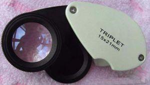 Jewel Loupe With Jadeite Filter