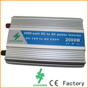 DC to AC 2000W Solar Power Inverter with Battery Charger