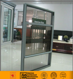 Double Glazed Low E Double Hung Window for Timber Reveal pictures & photos