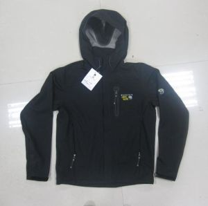 Waterproof Hooded Softhell Jacket pictures & photos