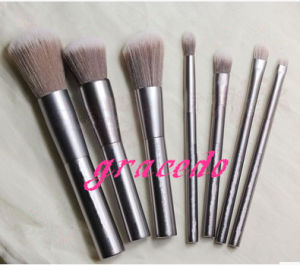 7 PCS Cosmetic Makeup Brush Set with Sliver Color (YMF406)