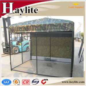Large Space Made in China Dog Kennel with Shelter pictures & photos