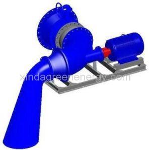 Horizontal Shaft Small Hydro Turbine Generator pictures & photos