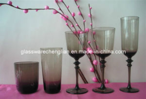 Hand Made Solid Color Drinking Glass Cup Set (B-GS06) pictures & photos