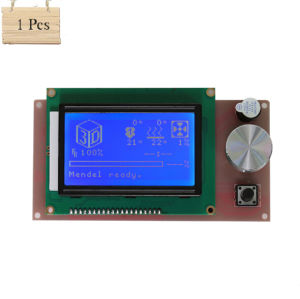 Anet 3D Printer Part Controller Ramps 1.4 LCD 12864 Control Panel Blue Screen for Anet A6 3D Printer pictures & photos