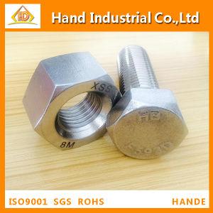 ASTM A194 B8, B8m Heavy Nut with ASTM A193 B8 Bolt with Unc, Un Thread pictures & photos