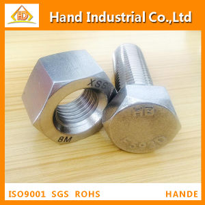 Stainless Steel Bolt ASME A194 B8 B8m M8-M64 Hexagonal Nut pictures & photos