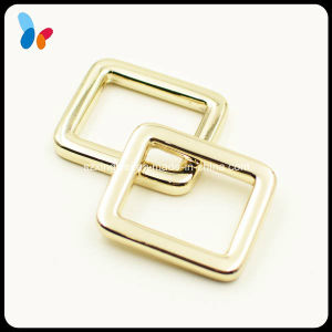 Inner Length 20mm Square Gold Metal Loop for Handbag pictures & photos