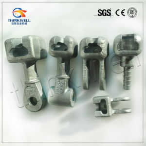 Forged Galvanized 120kn Socket Eye for Transmission Line pictures & photos
