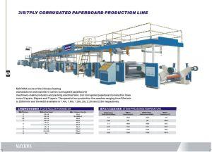 3/5/7Ply Corrugated Cardboard Produciton Line (WJ Series)