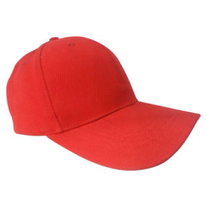 Hot Sale 6 Panel Baseball Cap Without Logo #1 pictures & photos
