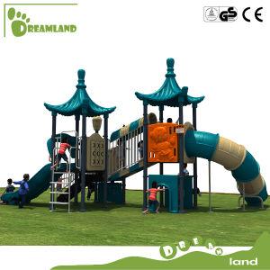 2017 China Manufacturer Kindergarten Plastic Kids Outdoor Playground Equipment pictures & photos