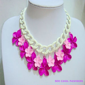 Flower Pendant Choker Fashion Jewelry