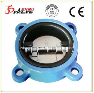 Double Disc Rubber Lined Swing Check Valve pictures & photos