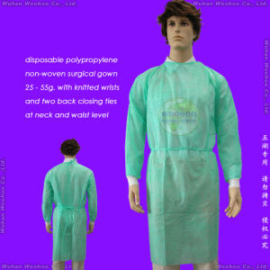 Nonwoven Hospital/Doctor/Nurse/Visitor/Surgeon/Surgery Suit pictures & photos